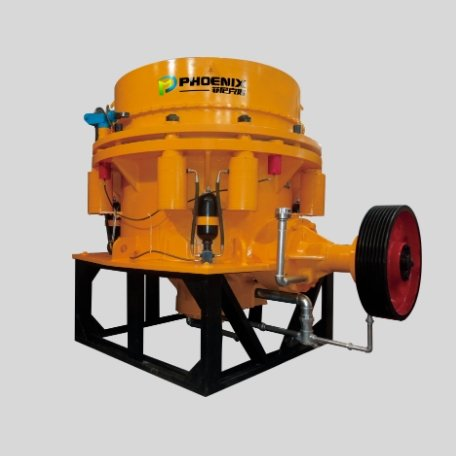 Hydraulic cone crusher animation video