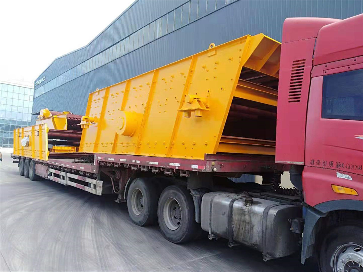 江苏破碎机厂家向福建发运时产500吨砂石生产线设备暨破碎机设备发货回顾