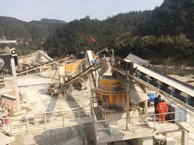 砂石生产线案例视频二
